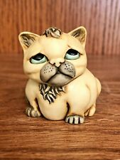 "Harmony Kingdom Pot Bellys ""Mouser"" Cat Figurine Trinket Box 2001 Retired"