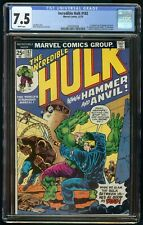 INCREDIBLE HULK #182 (1974) CGC 7.5 3rd APPEARANCE WOLVERINE WHITE PAGES