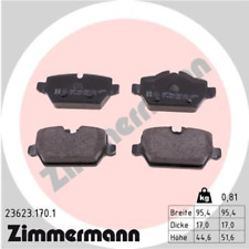 BMW Brake Pads Rear E81 E87 E90 34216767146