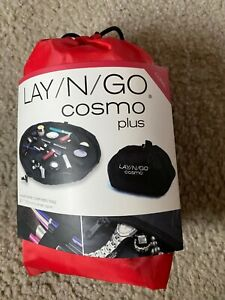 """Lay / N / Go Cosmo Coral Cosmetic Bag 21"""" - New, LayNGo, Makeup Bag"""