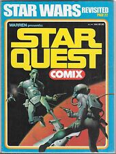 WARREN PRESENTS STAR QUEST COMIX #1 (VG) STAR WARS REVISITED, FAMOUS MONSTERS