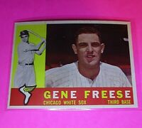 1960 Topps #435 Gene Freese White Sox NmMt High Grade Sharp!