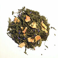 Pineapple Papaya Organic Green Tea, Choose loose leaf, tea bags or sample size