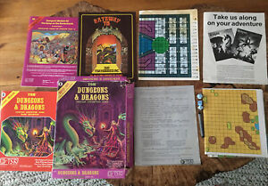Dungeons & Dragons Fantasy Adventure Game Basic Rules Box Set #1011 TSR 1980