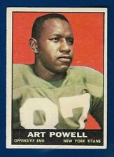 1961 Topps #151 Art Powell (RC) (EX-EXMT) New York Titans / Jets