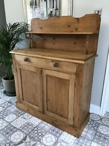 Restored Antique Pine Dresser/Sideboard