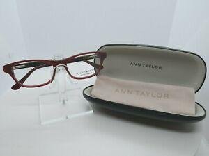 Ann Taylor PETITE ATP 806 (02) Burgundy  50 x 16 130 Eyeglass Frames