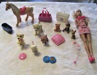 Barbie Pet Vet Lot & More