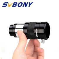 "SVBONY 1.25"" 3X Barlow Lens Multi-coated All Metal for Telescope Eyepiece Black"