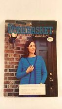The Workbasket Home Arts Magazine 1973 November Broomstick Crochet  Santa Socks