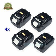 4x Makita BL1850 18 Volt 18V 5.0 Amp 5AH Lithium Li-Ion LXT Battery Pack bl 1830
