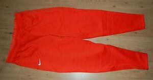 NIKE Therma Dri-Fit Pants Joggers Athletic Sweatpants Orange Men's Size L - NWT