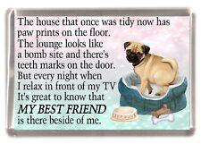 Dog Pet On Board Car Sticker or Magnet Spaniel Pug Jack Westie Shepherd Collie