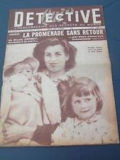 Détective 1953 FROCOURT BERTEAUCOURT DAME MOYEUVRE DROM