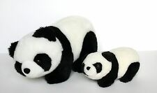 Cute Stuffed Panda Bears - Mommy and Baby