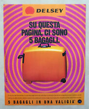D512-Advertising Pubblicità-1997 - DELSEY VALIGIA VOLUME