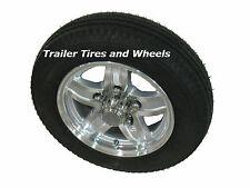 "LS 5.30-12 LRC Loadstar Bias Trailer Tire on 12"" 5 Lug Aluminum Wheel 5.30x12 ac"