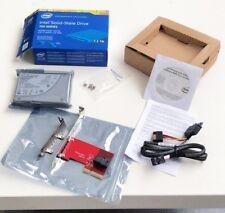 """Intel 750 Series 2.5"""" SSD 1.2TB NVME MLC PCI-E 3.0 x4 SSDPE2MW012T4X1 1.2T 2.5"""""""