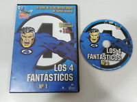 LOS 4 FANTASTICOS DVD ESPAÑOL ENGLISH REGION 2 FANTASTIC FOUR MARVEL - AM