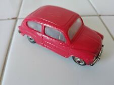 FIAT 600 Vintage NOREV  plastica 1/43 anni 60 ottima
