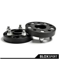 2x25mm 5x114.3 CB66.1 M12x1.25 Aluminum Wheel Spacers Adapters for Infiniti Q50L