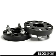 2x25mm 5x114.3 CB66.1 M12x1.25 Aluminum Wheel Spacers Adapters for Infiniti Q50L