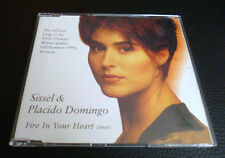 CD SISSEL & Placido Domingo Fire In Your Heart Olympic Games Lillehammer 1994