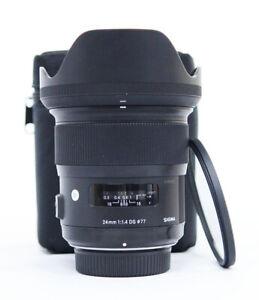 # Sigma Art 24mm f/1.4 HSM DG Lens For Nikon S/N 51092631
