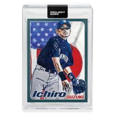 TOPPS PROJECT 2020 CARD #169 Jamieson Ichiro Suzuki CENTERED w/ box Mariners