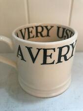 Emma Bridgewater Black Toast & Marmalade Babymug a very useful mug, rare.
