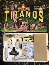 POWER RANGERS MIGHTY MORPHIN TITANOS CARRIER ZORD COMPLETE NEW Unused Contents