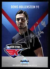 Denis Hollenstein Autogrammkarte Kloten Flyers 2012-13 Original Sign +A 58747