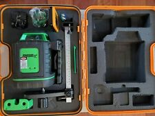 New Listingjohnson Self Leveling Rotary Laser Withgreenbrite Tech 40 6543 Kit New Open Box