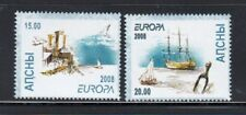 ABKHAZIA Europa 2008 Ships MNH set