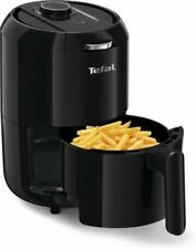 TEFAL EY1018 Easy Fry Compact Fryer Air Fryer 1.6L With Timer Black