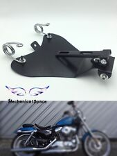 "2"" Solo Spring Mounting Kit W/ Seat Baseplate Bracket for Harley Bobber Chopper"