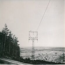 LACALM c. 1950 - Panorama Vue sur le Village Aveyron - Div 10996