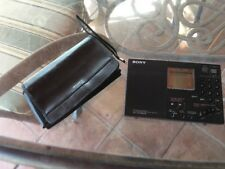 Sony ICF-SW7600G AM/FM Shortwave World Band Receiver with Manuals, Case, & Box!