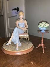 Forever Diana By Emily Kaufman Franklin Mint Painted Limited Edition W/O Coa