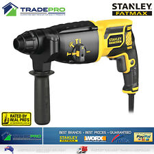 Stanley Fatmax Rotary Hammer Drill Electric 3 Mode SDS Concrete Demolition Jack
