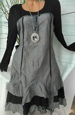 Joe Browns Kleid Damen Gr. 40 bis 56 Schwarz mit Muster NEU (092) (824)