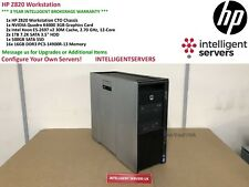 HP Z820 Workstation 2x E5-2697 V2 2.70GHz  256GB  2TB HDD 500GB SSD Quadro K4000