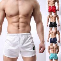 Men's Sport Gym Shorts Training Fitness Running Jogging Trunks Beach Short Pants