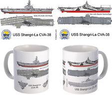 USS Shangri-La CV/CVA-38  mug