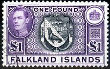 Falkland Is 1938 Black & Violet SG163 V.F.U (9)