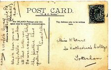 Family History Postcard - Dense - St Katherine's College - Tottenham - Ref 1201A