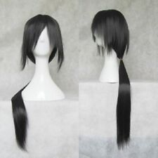 Hot ! New Uchiha Itachi COSPLAY long straight black wig Free shipping wigs