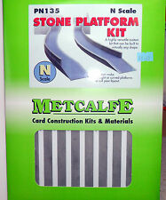New Metcalfe Stone Platform Kit PN135 Suit Hornby