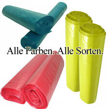 Muellbeutel.Müllsack.Müllsäcke 120l.Abfallsack.Müllsack.Mülltüten.Rot-Gelb-Blau.