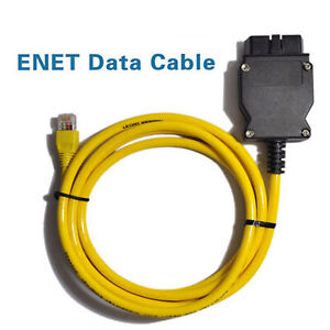 Ethernet to OBD Interface Cable E-SYS ICOM Coding for BMW ENET Data OBD2 Cable